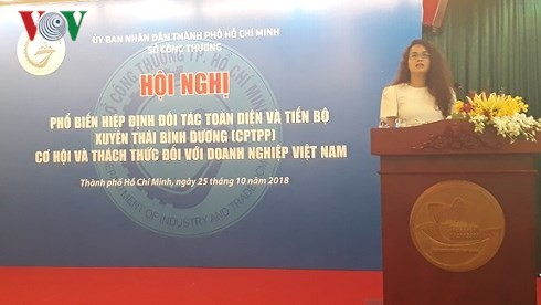 Businesses get update information on CPTPP - ảnh 1