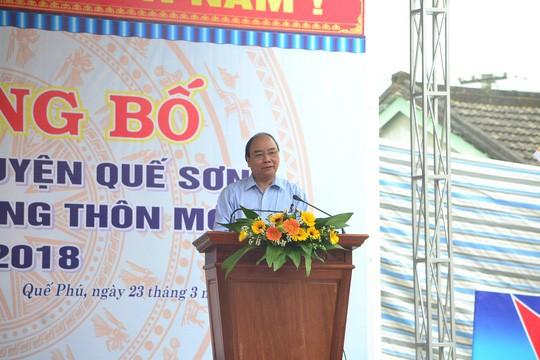 PM Nguyen Xuan Phuc pays a working visit to Quang Nam  - ảnh 1