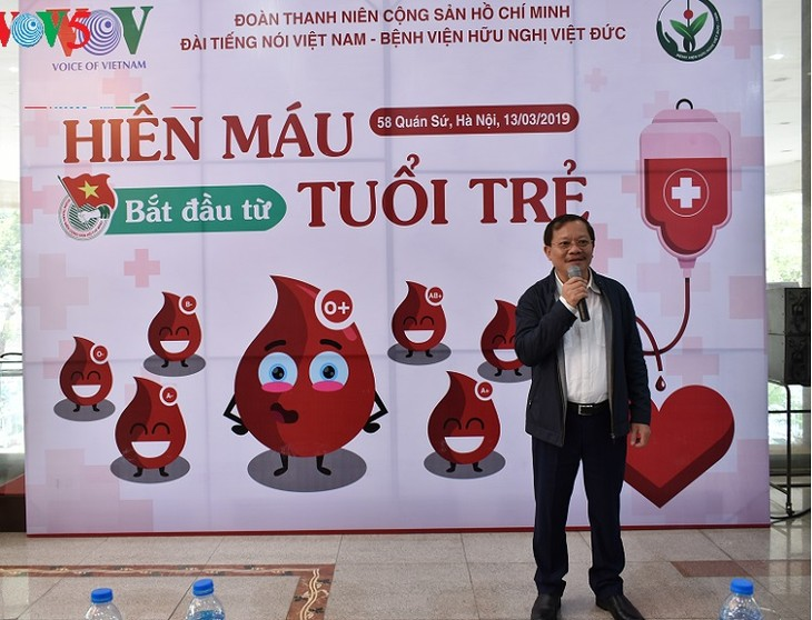 VOV marks Youth Month 2019 with diverse charity activities  - ảnh 3
