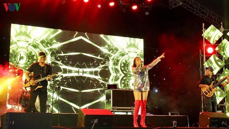 International Music Exchange held in Da Nang to welcome 2020  - ảnh 1