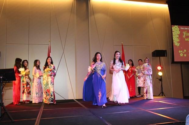 Vietnamese communities abroad celebrate Tet - ảnh 1