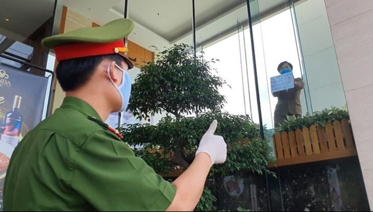 Life in Vietnam's quarantine area - ảnh 2