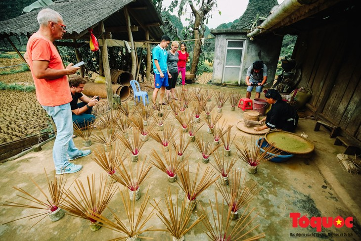 Incense-making craft of the Nung An - ảnh 3