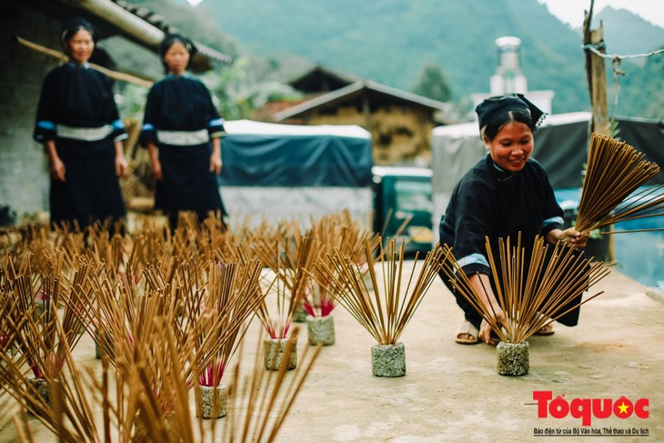 Incense-making craft of the Nung An - ảnh 1
