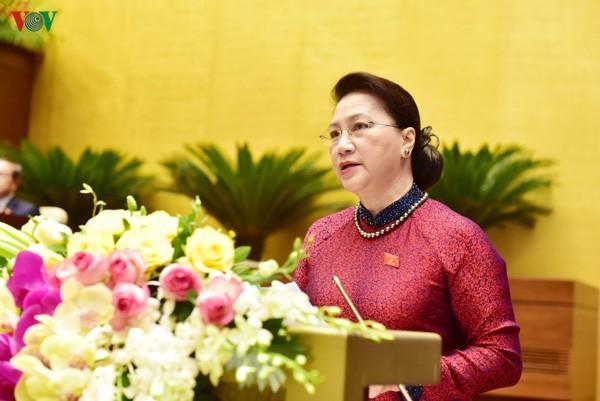 National Assembly opens ninth session - ảnh 1