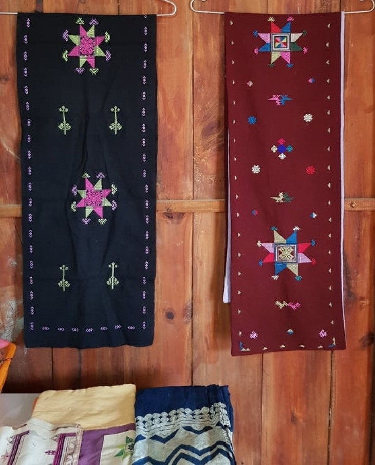 Brocade weaving of the Dao Tien group - ảnh 3