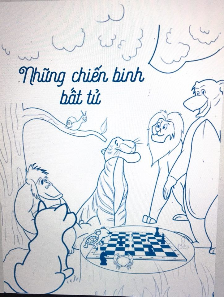 """""""Nước cờ hòa"""" (The draw move), chess book for children to be released on International Children's Day - ảnh 2"""