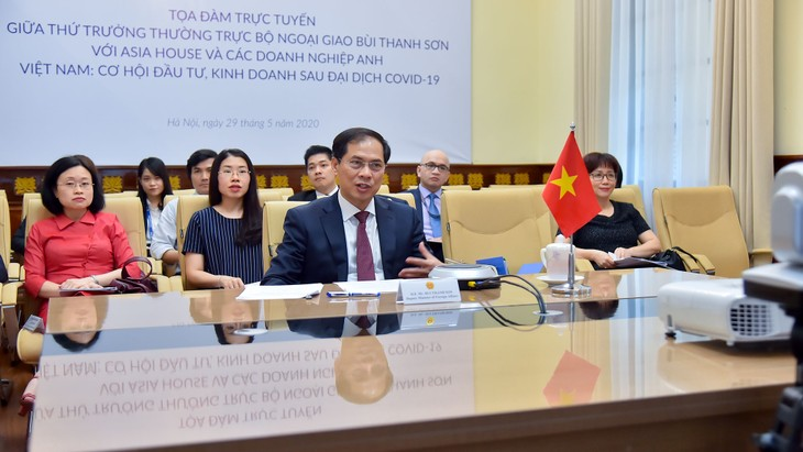 Online conference on Vietnam's investment and trade opportunity in post-COVID 19 - ảnh 1