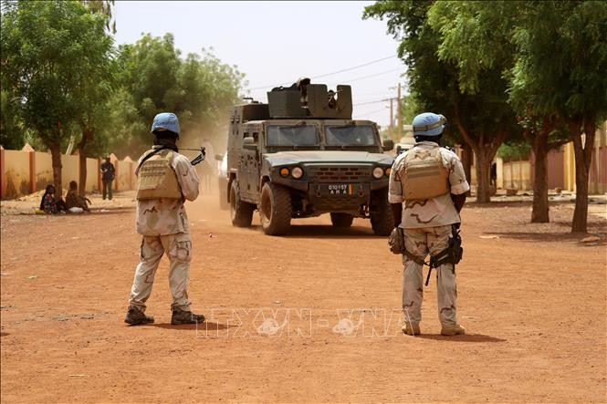 UN peacekeeping force in Mali repeatedly attacked - ảnh 1