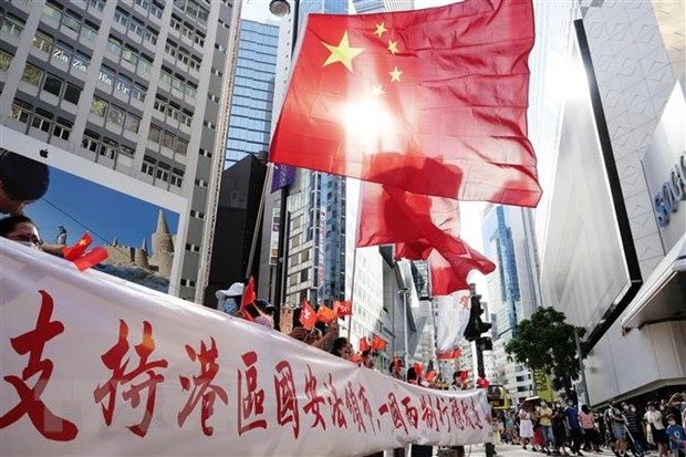 Hong Kong chief  says national security law conducive to stability - ảnh 1