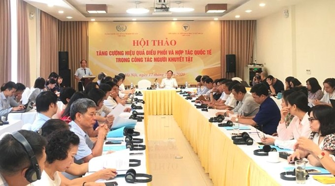 International cooperation and coordination to support people with disabilities - ảnh 1