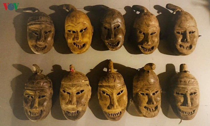 Masks in religious rites of the Dao - ảnh 1