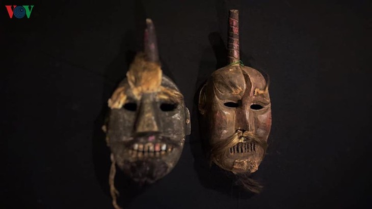 Masks in religious rites of the Dao - ảnh 2