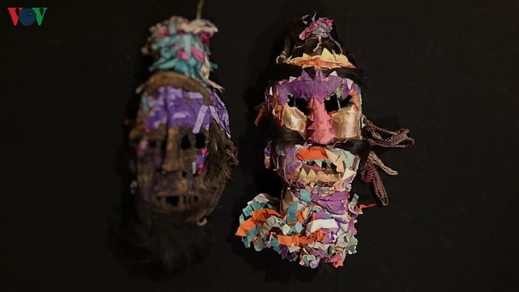 Masks in religious rites of the Dao - ảnh 3