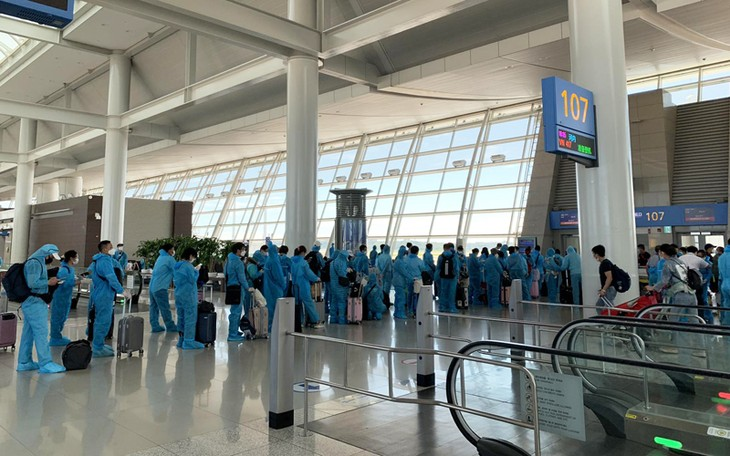 310 Vietnamese citizens repatriated from Republic of Korea - ảnh 1