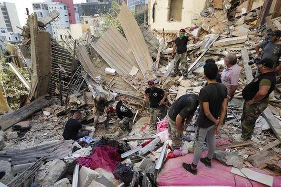 Beirut explosion: Lebanon calls for international support  - ảnh 1