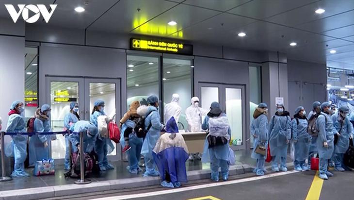 350 Vietnamese citizens repatriated from Japan - ảnh 1