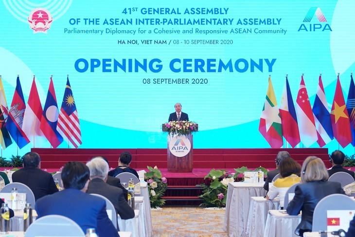 Vietnam pledges enhanced effort as AIPA Chair 2020 - ảnh 5