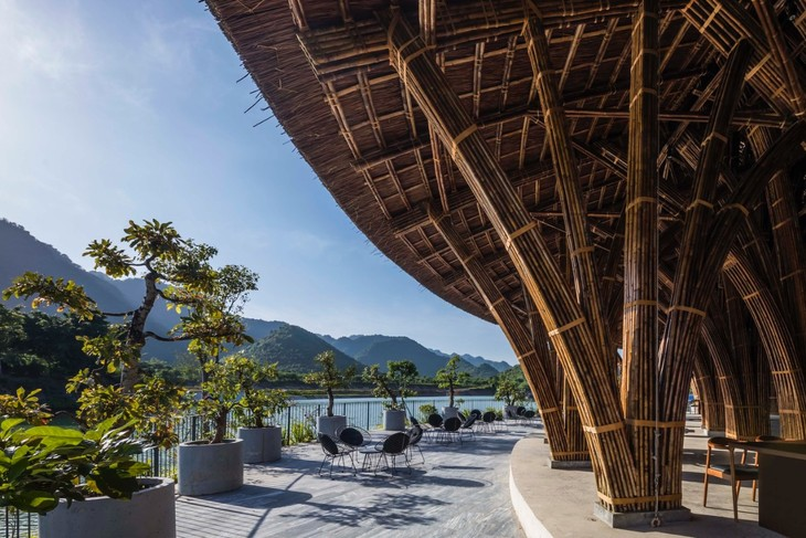 Ninh Binh restaurant wins international architecture prize  - ảnh 5