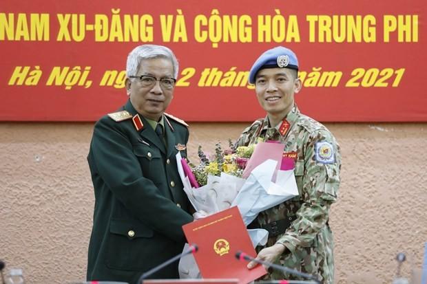Vietnamese officer sent to UN headquarters mission  - ảnh 1