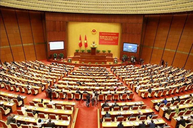 Online national conference popularizes Resolution adopted at the 13th  National Party Congress - ảnh 1