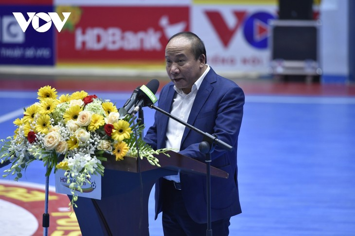 National Futsal Tournament 2021 opens - ảnh 1