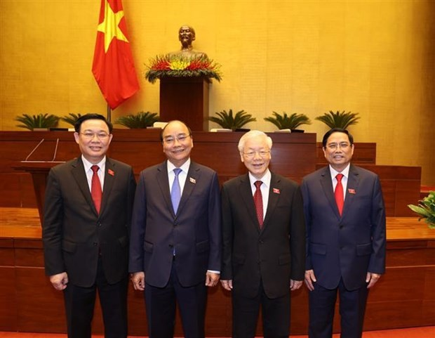 World leaders send messages of congratulations to newly-elected Vietnamese leaders - ảnh 1