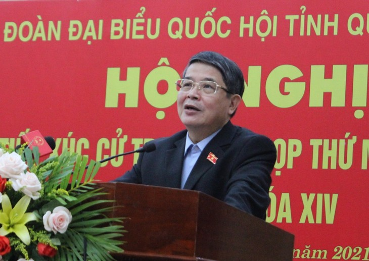Deputy Chairman of the National Assembly meets voters in Quang Nam - ảnh 1