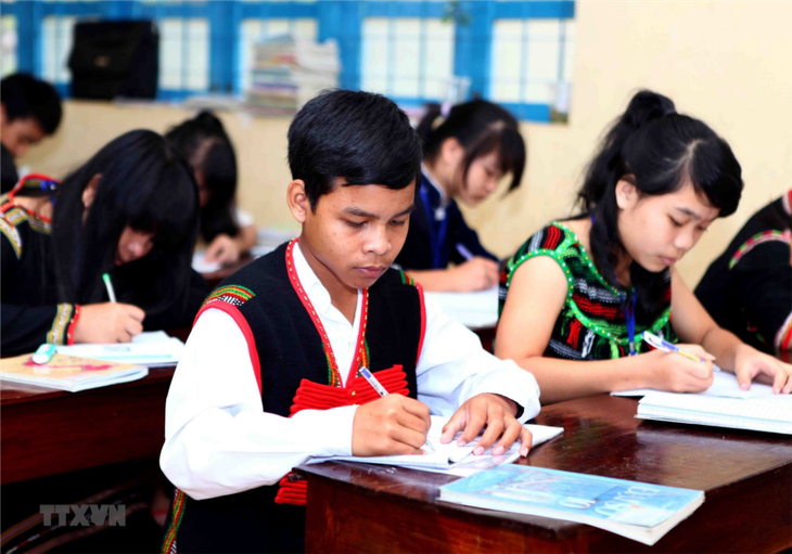 Investment in education paying off in Central Highlands - ảnh 1