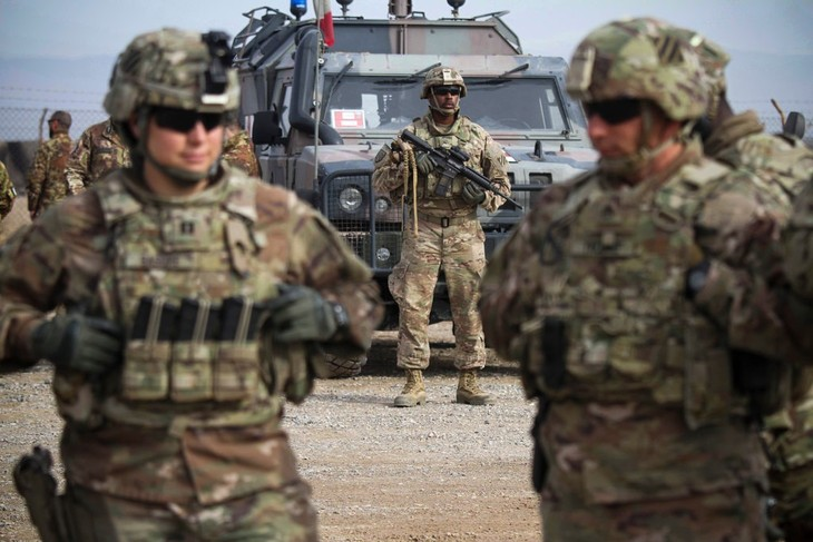 US to send reinforcements to protect troop withdrawal from Afghanistan - ảnh 1