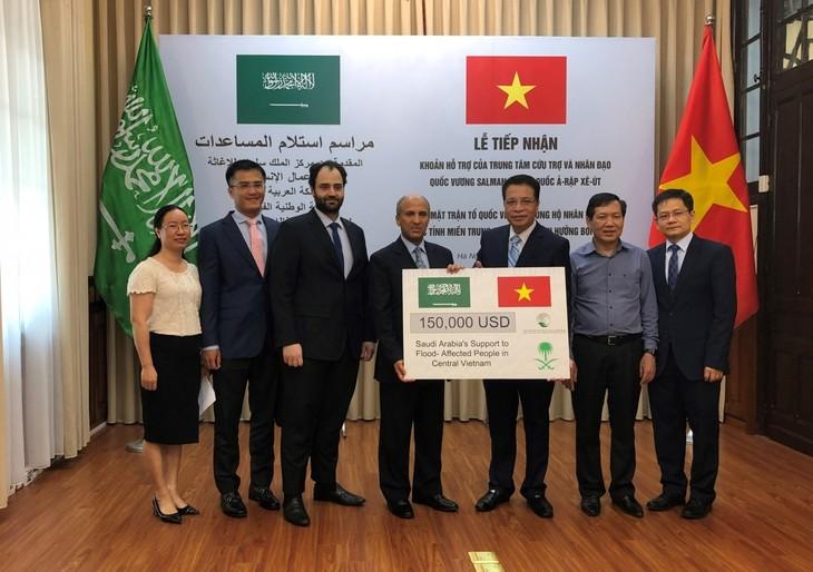 Saudi Arabia donates 150,000 USD for Vietnam's flood-hit central region - ảnh 1