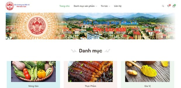 Bac Kan launches OCOP e-commerce floor - ảnh 1