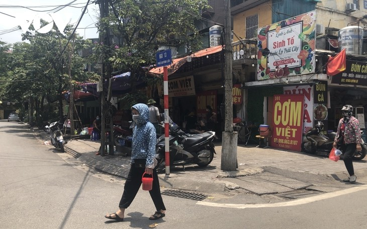 Hanoi suspends catering services as COVID-19 cases rise - ảnh 1