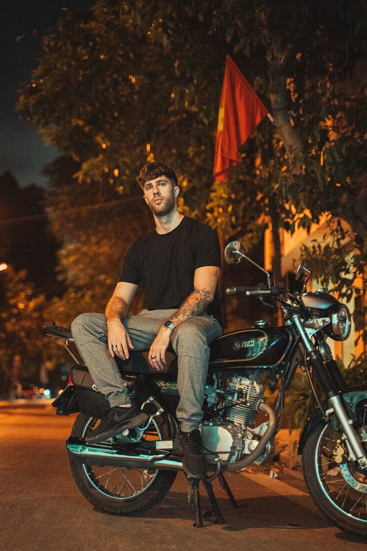 Nuce in Vietnam and his passion for rap - ảnh 2