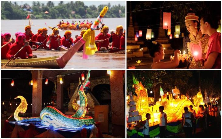 Laos's Boun Ork Phansa Festival    - ảnh 1