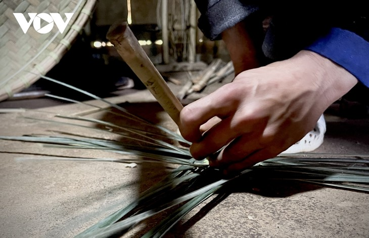 Preservation of the Mong's rattan weaving craft  - ảnh 2