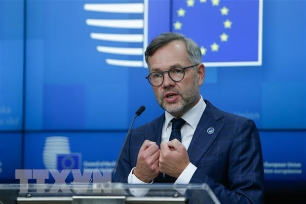 EU reacts cautiously over AUKUS - ảnh 1