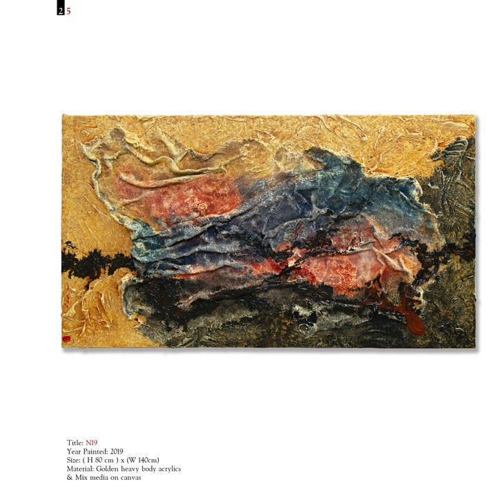 Vietnamese painter holds first solo exhibition in Italy - ảnh 13