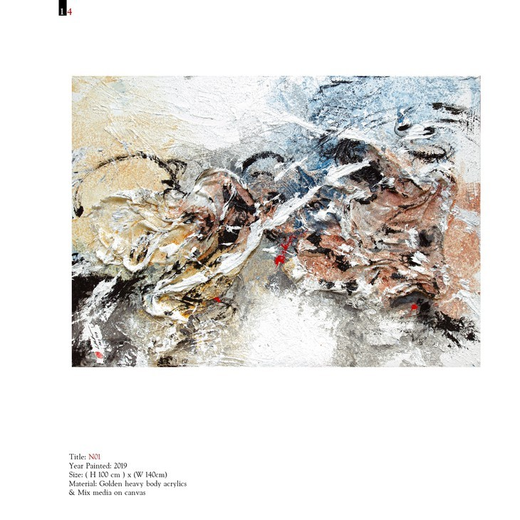 Vietnamese painter holds first solo exhibition in Italy - ảnh 14