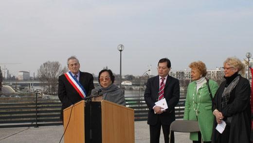 Choisy-le-Roi : Inauguration de la place « Accords de Paris »  - ảnh 1