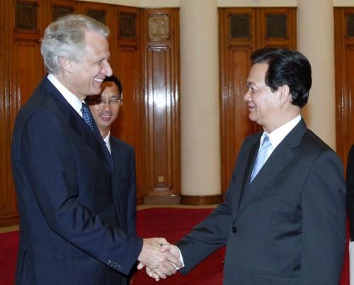 Belles perspectives de coopération vietnamo-française - ảnh 1