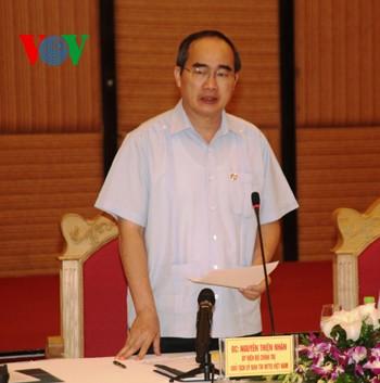 Le président du Front de la Patrie visite Quang Ninh - ảnh 1