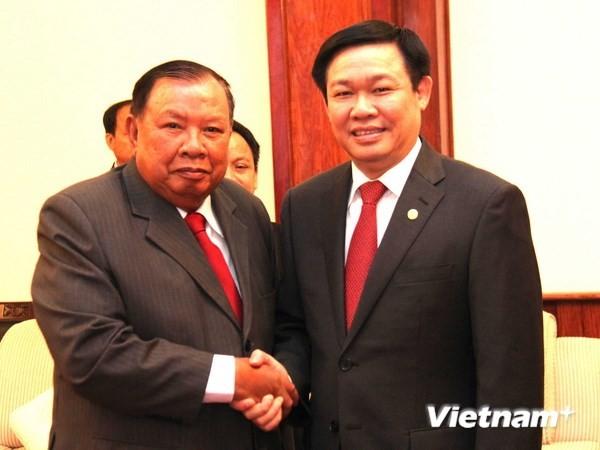 Booster le partenariat intégral Vietnam-Laos - ảnh 1
