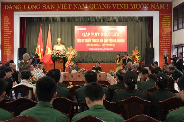 Rencontre pour commémorer les 70 ans de l'armée vietnamienne - ảnh 1