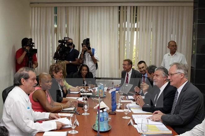 Clôture du dialogue La Havane-Bruxelles sur la normalisation de leurs relations  - ảnh 1