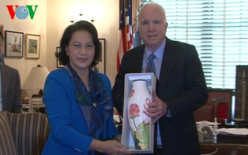 Nguyen Thi Kim Ngan termine sa visite aux Etats-Unis - ảnh 1