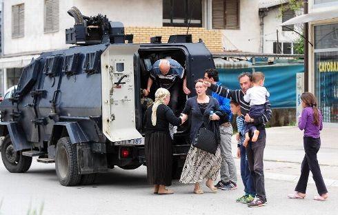 L'OTAN et l'UE appellent à la retenue en Macédoine - ảnh 1