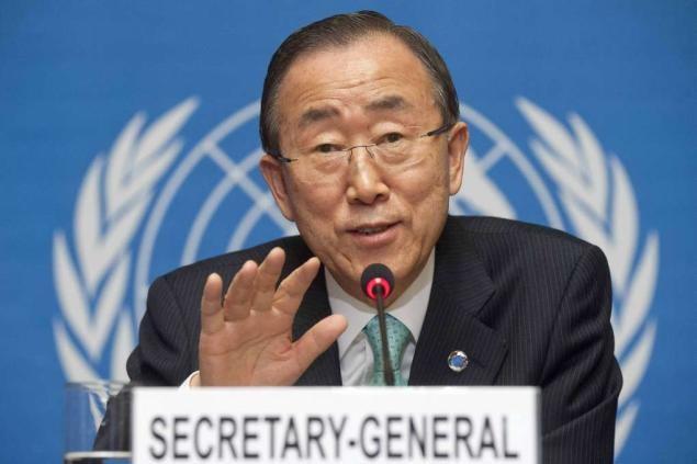 Nguyen Phu Trong reçoit Ban Ki-moon - ảnh 1