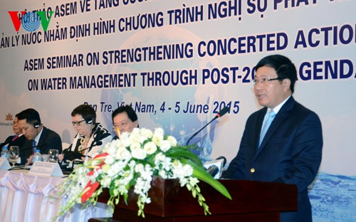 Le Vietnam renforce sa coopération dans la gestion durable des ressources en eau - ảnh 1