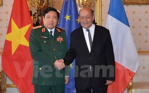 Intensifier la coopération défensive vietnamo-française - ảnh 1